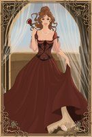 Medieval Princess Belle by PinkPetalEntrance