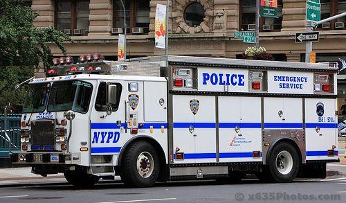 NYPD ESU Truck 1