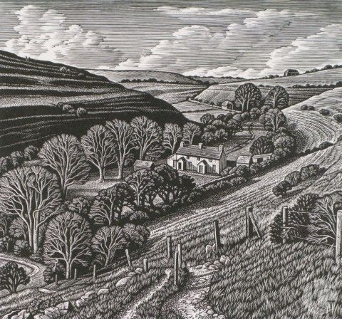 Wood Engravings by Howard Phipps from The Jerram Gallery. Contemporary British pictures and sculpture