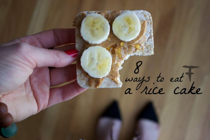Best 25 Rice Cake Snacks Ideas On Pinterest Healthy