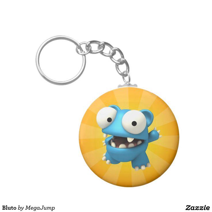 Bluto Basic Round Button Keychain. Regalos, Gifts. #llavero #keychain