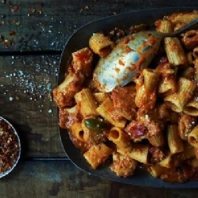 759 best quick and easy dinner ideas images on pinterest asian an upstate ny classic regional italian american dish with a sherry wine pink sauce chicken and hot cherry peppers forumfinder Choice Image