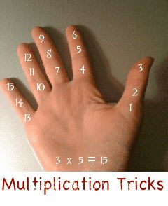 multiplication tips - pin now read later