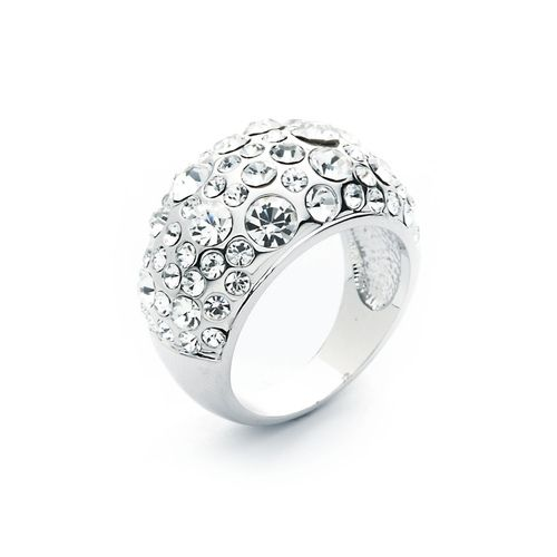 Chic Crystal Pave Ring with Swarovski® Crystals