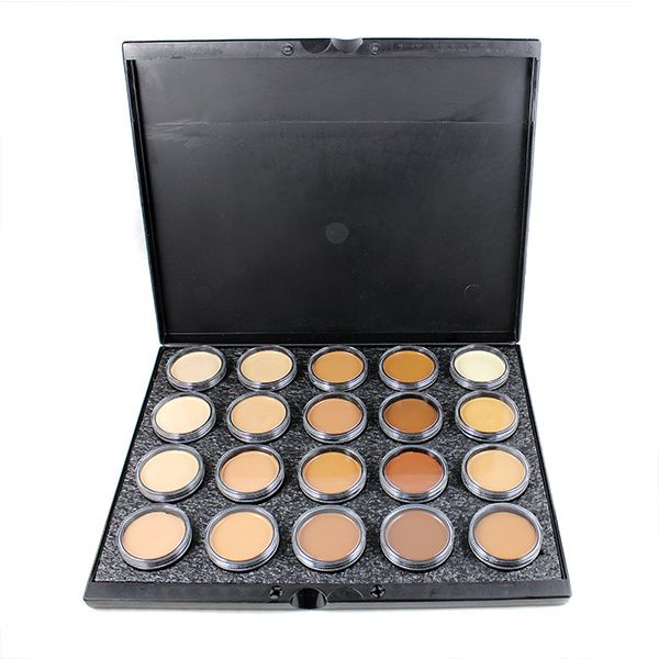 Camera Ready Cosmetics - Mehron Celebre Pro-HD Makeup 20-Color Palette (large full sized) - Palette A , CAD $250.01 (http://camerareadycosmetics.com/products/mehron-celebre-pro-hd-makeup-20-color-palette-large-full-sized-palette-a.html)