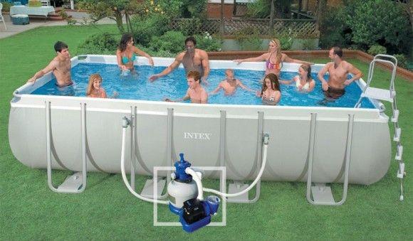 25 best ideas about intex piscine tubulaire on pinterest for Piscine portable