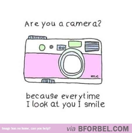 Photographer Pick Up Lines…