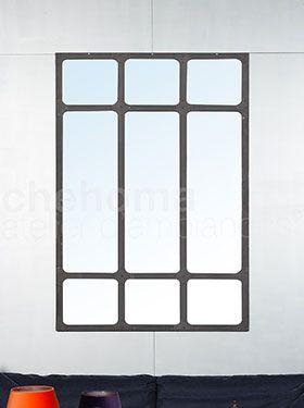 Iron mirror XXL size 182x115