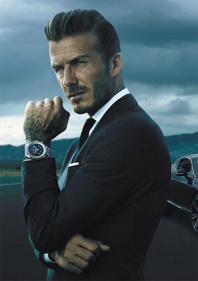 Breitling for Bentley avec David Beckham.
