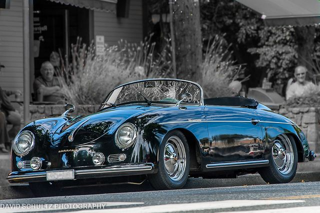 1955 Porsche 356 Speedster - This is my all time fav conv. Sports car! I got hooked while watching Bev Hills 90210. This was Dillion's ride. Remember?