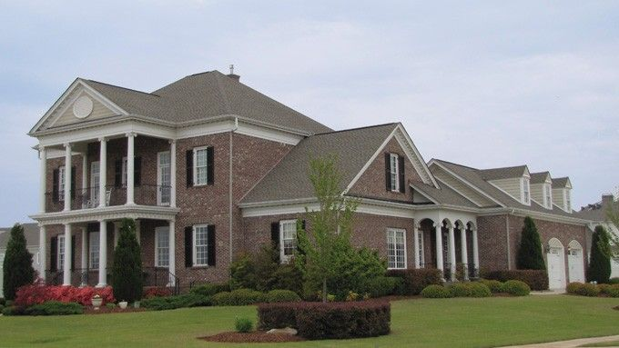 Eplans neoclassical house plan the brewton house 4465 for Www eplans com house plans