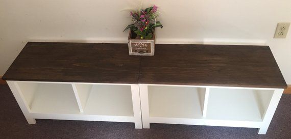 Two Tone Painted Entryway Bench Shoe Cubby Cubby Storage Bench Bench Seat Entertainment Center Cubby Storage Bench Storage Bench Storage Bench Seating