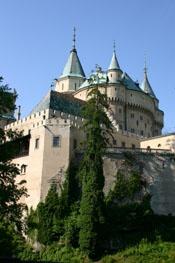 The Castle Bojnice, a historical landmark in Slovakia