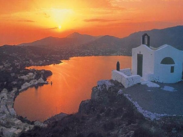 Leros sunset
