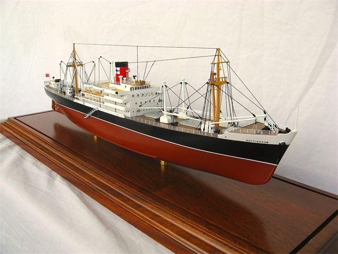 MV Nottingham, Federal Steam Navigation | Model Ship ...