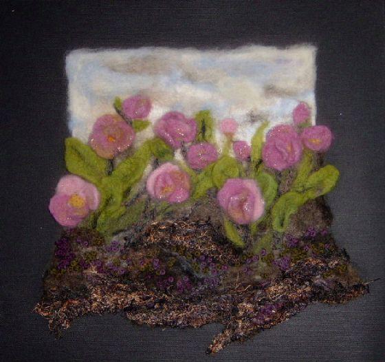 Embroidery by Gilda Baron