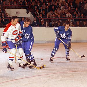 Jacques Laperriere, Bob Pulford & Dave Keon