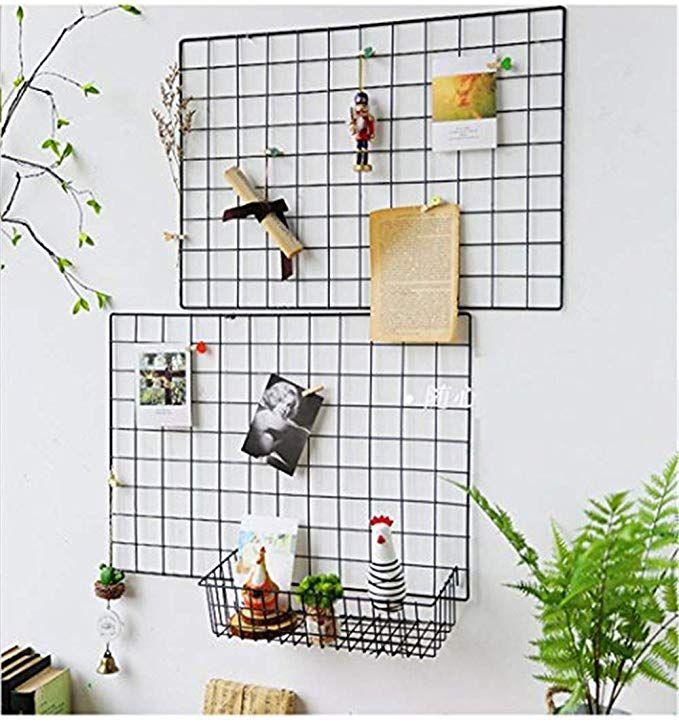 Affiliatelink Diy Eisen Gitter Der Foto Wand Dekoration Plaid Foto An Der Wand Hangen In Der Familie Kuche Buro Und S Dekoration Gitterwand Gitter Pinnwand