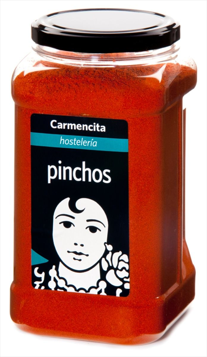 The popular Carmencita mix for making the classic 'pinchos morunos'.  Simply coat the diced, oiled pork in the spice mix, place four or five chunks on a wooden skewer and cook on a searing hot pan or grill.  This catering size tub represents a significant saving over the smaller jars.