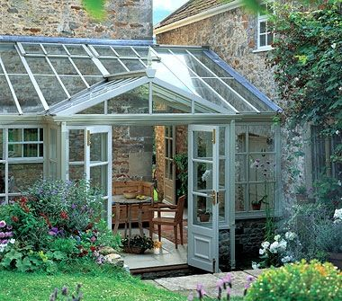 157 best images about conservatories sunrooms on pinterest for Sunroom attached to house