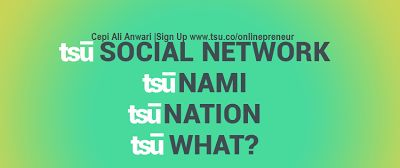 Tsu Social Payment ~ Tsu merupakan sosial media baru yang membayar penggunanya. Setiap konten dihargai dollar!!
