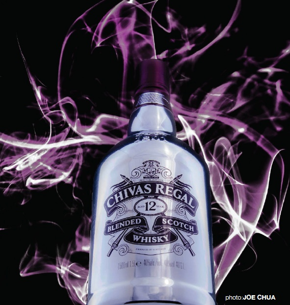 Larger than life. Light in the night. And possibly yours to keep.♥    The Night Magnum – Chivas Regal, the world's original luxury Scotch whisky, in an eye-catching 1.5 litre metallic finish magnum bottle with that distinctive burgundy Chivas Regal emblem.     On Nov 3, 2012, one of our invited guests will walk away with a Chivas Regal Night Magnum at the launch party of Nightlife[Confidential] Vol 3: Ready To Wear by Chivas 12 at Taboo club.♥♥♥    Pic by Joe Chua for Nightlife…