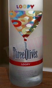 Fruit Loop flavored vodka.