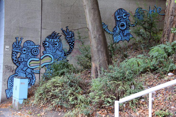artist A1ONE  http://www.a1one.info urban primitivism street art
