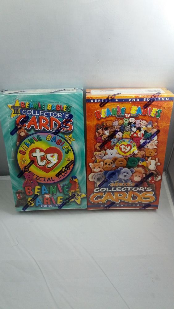 TY Beanie Babies Collectors Cards lot of 2 Series 3 2nd edition Series 4 2nd  #Ty