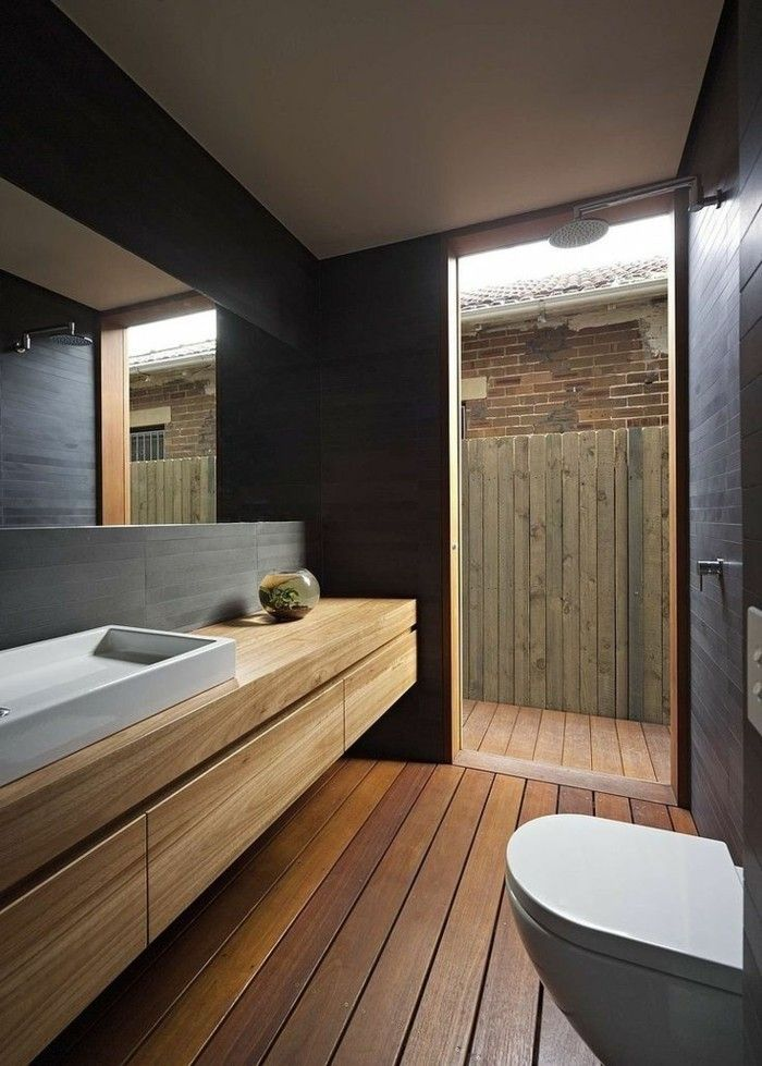 Les 25 meilleures id es de la cat gorie planchers de salle for Salles de bains contemporaines