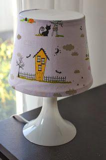 Lampenschirm beziehen - naddbo