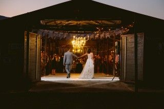 Reception at The Cow Shed | Nicci and Vaughn | www.justsayyes.co.za