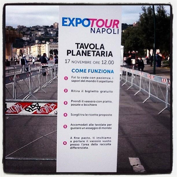 Come funziona la Tavola Planetaria? #ExpotourNapoli #ExpoTour #Expo2015 #ExpoMilano2015 #Napoli #TavolaPlanetaria
