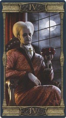 Emperor from the Vampires Tarot of the Eternal Night