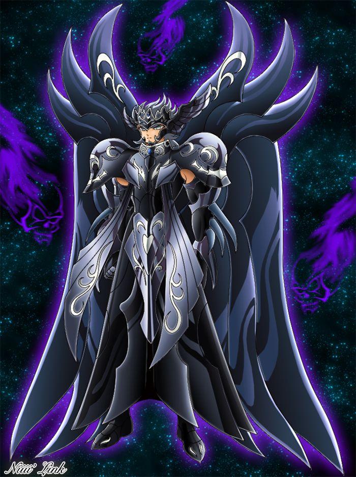 Thanatos Dios de la Muerte hermano gemelo del Dios Hypnos y parte del ejercito de espectros de Hades