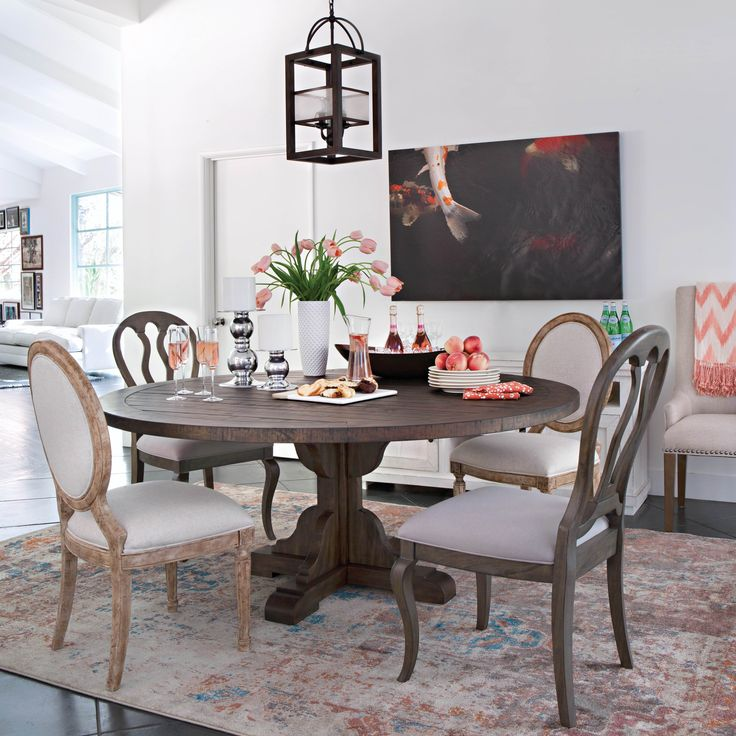 111 Best Dining Rooms Images On Pinterest  Dining Room Dining Alluring Living Spaces Dining Room Inspiration