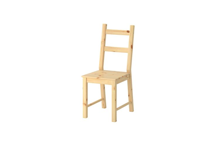 Ikea Ivar Unfinished Wood Chair