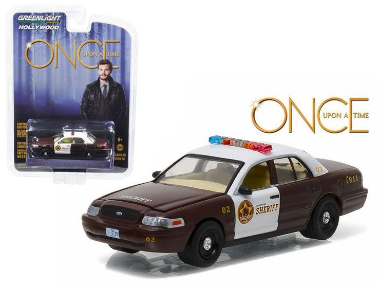 """Sheriff Graham\'s 2005 Ford Crown Victoria Police Interceptor \Storybrooke\"""" Once Upon a Time (2011-Current) TV Series 1/64 Diecast Model Car by Greenlight"""""""