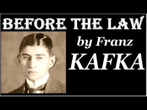 LIVE Before the Law by Franz Kafka - Full Free Audio Book, Summary BAC Biography - YouTube