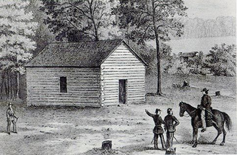 Shiloh Church before the Battle of Shiloh