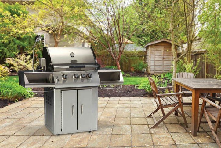 Vermont Castings 325 Signature Series Freestanding Liquid Propane Gas Grill Cart with Three Burners, 37500 BTU Main Burners, 15000 BTU Rotisserie Burner, and 300 True Stainless Steel Construction VCS325SSP at appliancesconnection.com. The 325 Signature Series Grill adds a level of sophistication with the 300 True Stainless Steel construction to this three-burner grill. #grills #grillmasters #grillgoals #musthave #topoftheclass