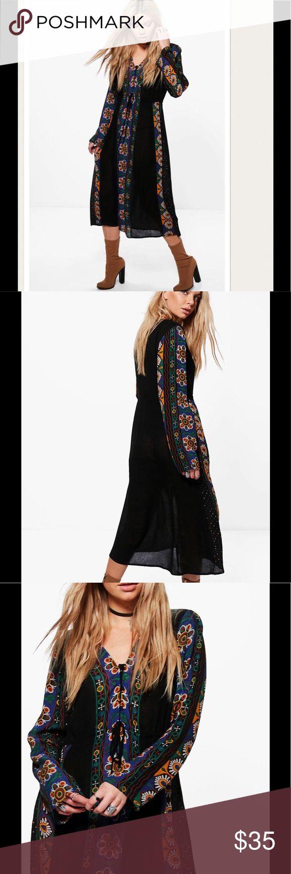 "🌸COMING SOON 🌸 NWT Boho Maxi Dress Brand sold At Asos.com. Unlined. 100% Viscose. Flat Measurement of Garment: Shoulder To Hem 43"", Bust 30"" Machine Wash. Model Wears Size 6. Asos Dresses Maxi"