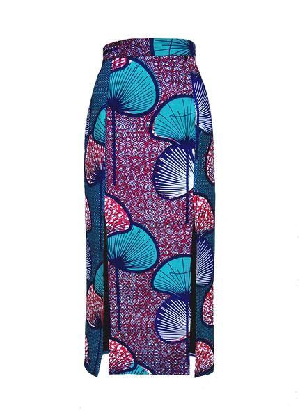 Anyatta Front Splits Skirt