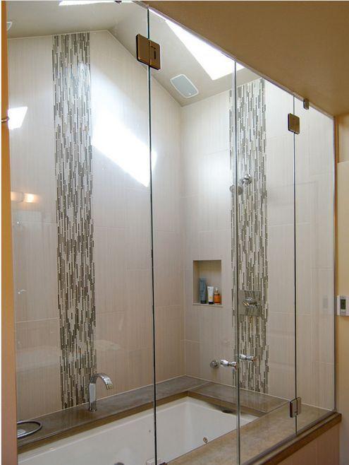 images vertical subway tiles bathroom - Google Search