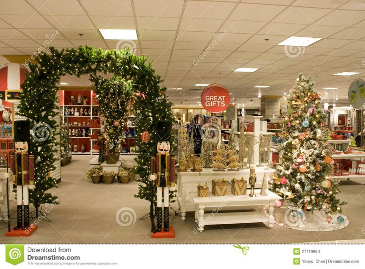 Beautiful Department Store Christmas Decorations