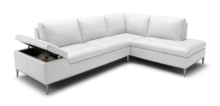 Stylish Design Furniture - Gardenia  Modern White Sectional Sofa with Chaise, $3,248.00 (http://www.stylishdesignfurniture.com/products/gardenia-modern-white-sectional-sofa-with-chaise.html)