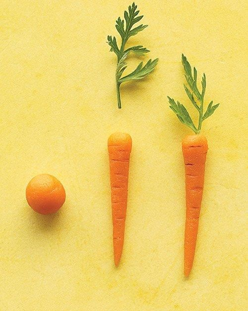 Petite Marzipan Carrots Recipe