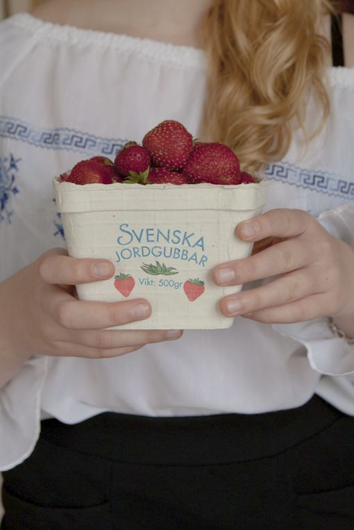 Midsummer and strawberries