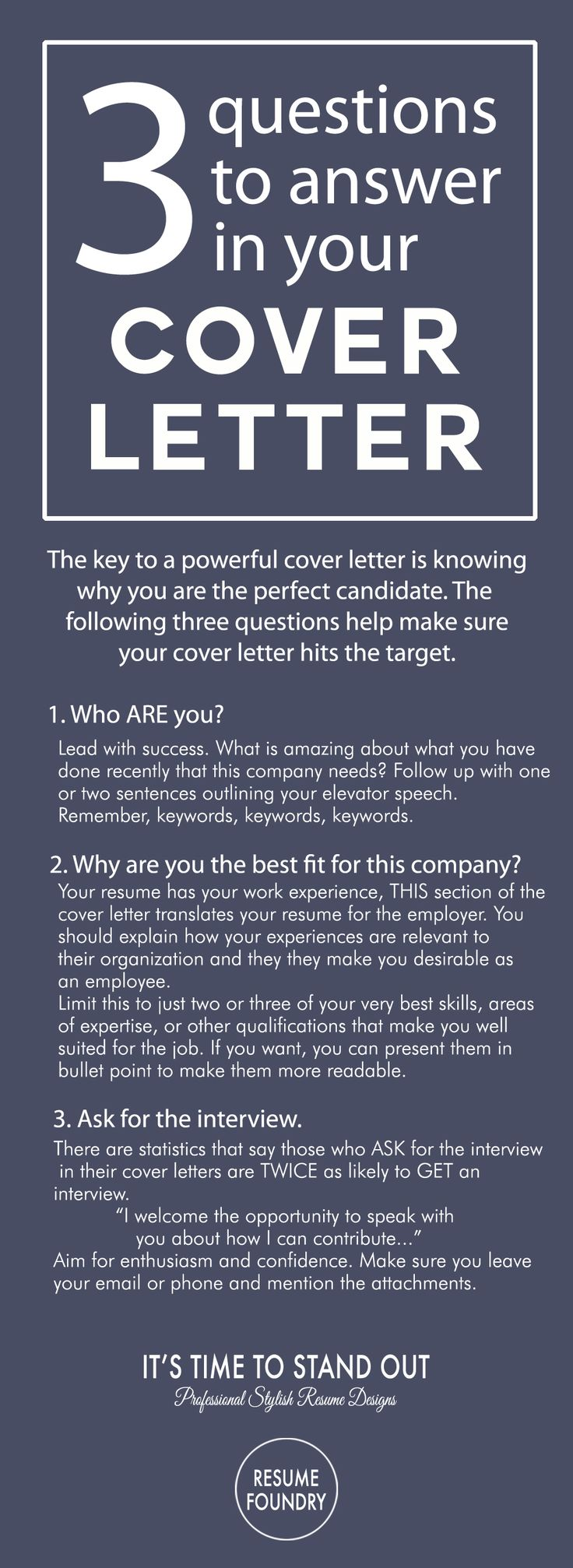 Cover Letter Tips - Outline. How to write a cover letter.                                                                                                                                                                                 More