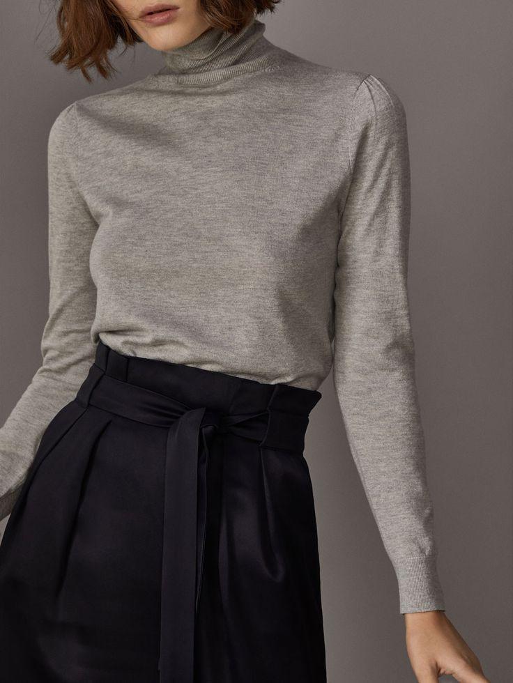 FALDA LAPIZ CON CINTURÓN de MUJER - Faldas de Massimo Dutti de Otoño Invierno 2017 por 59.95. ¡Elegancia natural!